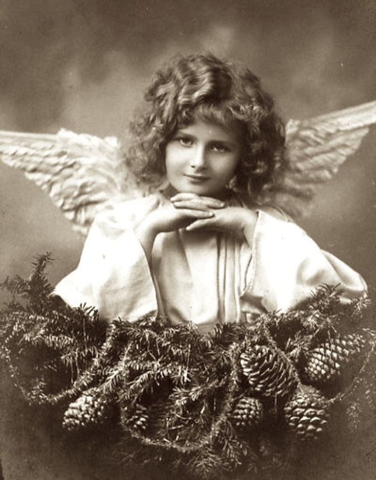 Картинки ретро ангелы