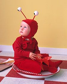 Let your baby ruffle her feathers or flip her tail; our easy-to-sew disguises are inspired by animals babies adore. #JoesCrabShack #JoesMaineEvent #TwinLobsterBucket
