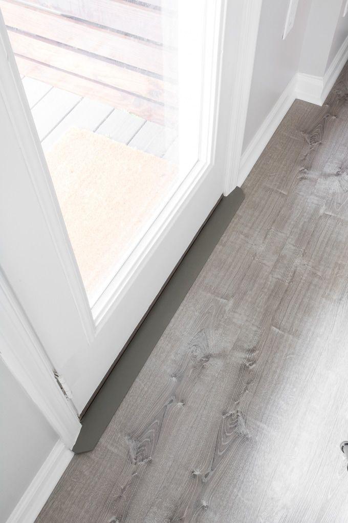Door Threshold For Vinyl Flooring On A Concrete Subfloor Flooring Plank Flooring Diy Vinyl Flooring