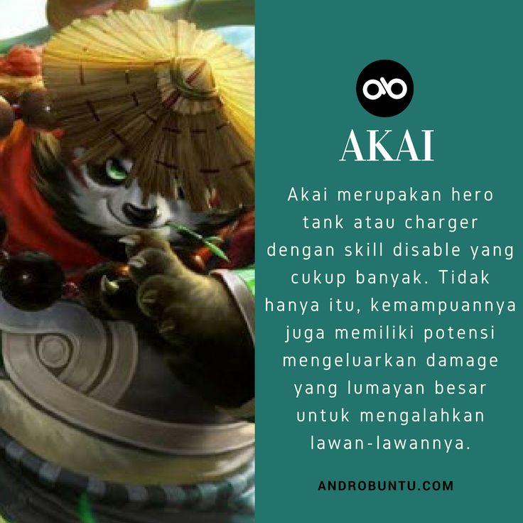 Akai adalah salah satu tank atau charger dengan skill disable yang cukup banyak di Mobile Legends.