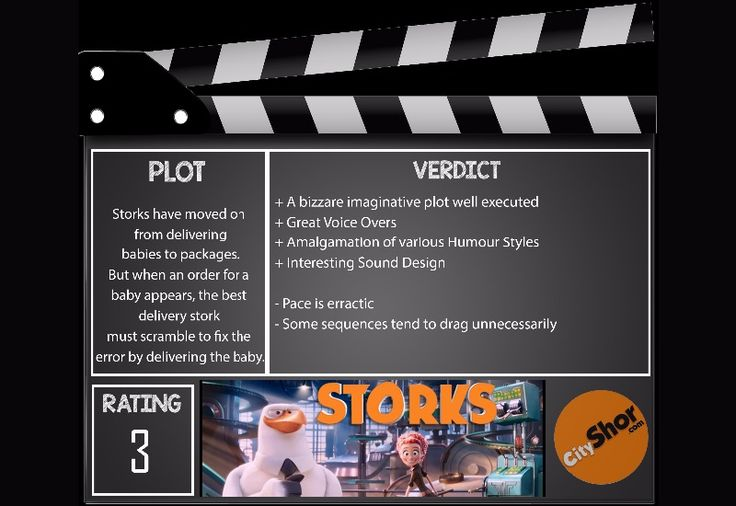 Movie Review - #Storks   #MovieReview #Animation #Cartoon #Entertainment #CityShorAhmedabad