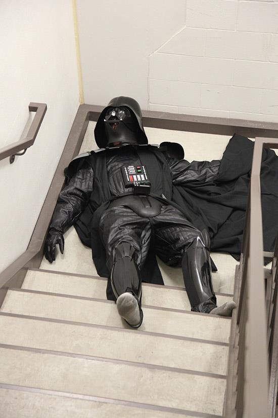 Darth Vader Costume (haha!) #costumes #halloween #starwars