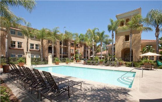 2 Resort-style swimming pools w/spas & poolside BBQ areas at Villa Coronado Apartments in Irvine, CA #resort #apartmentliving #pool