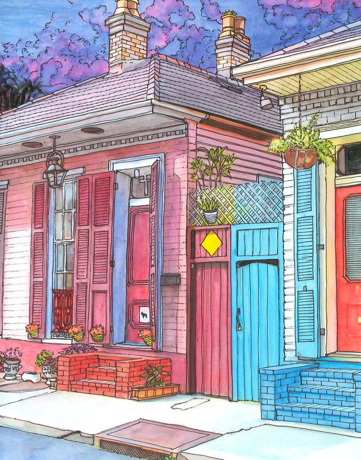 154 Best Images About New Orleans Shotgun House On Pinterest New Orleans Louisiana House And