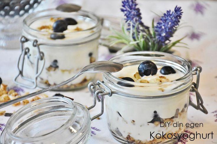 Scandinavian Wellness - DIY din egen Kokosyoghurt (vegan & mjölkfritt)