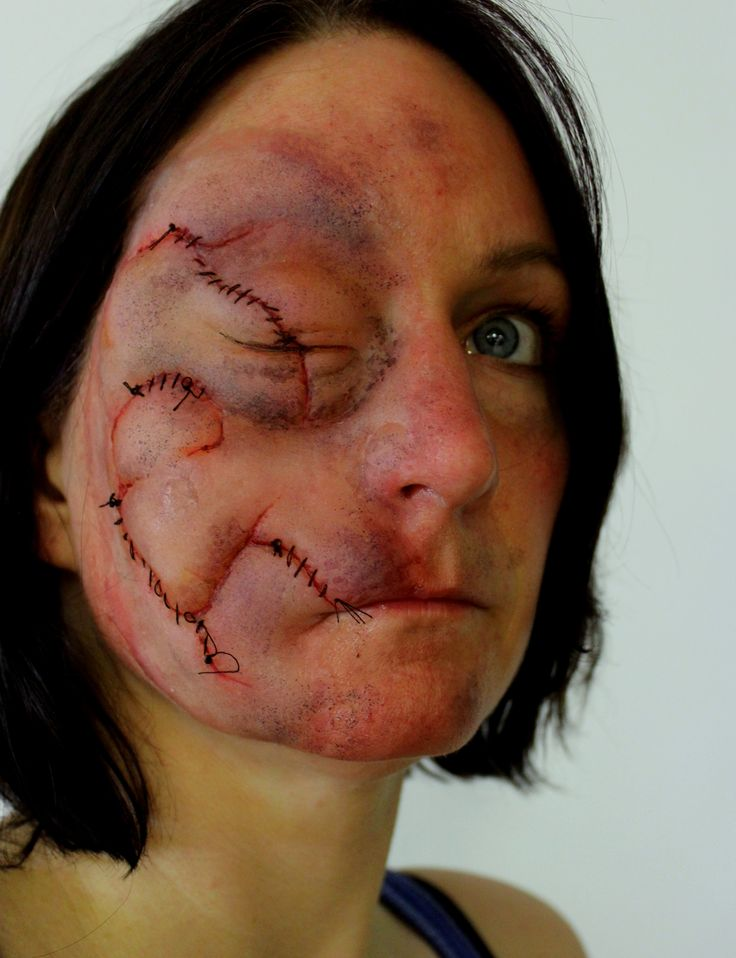 prosthetic makeup by rhonda caustonreel twisted fx - Halloween Effects Makeup