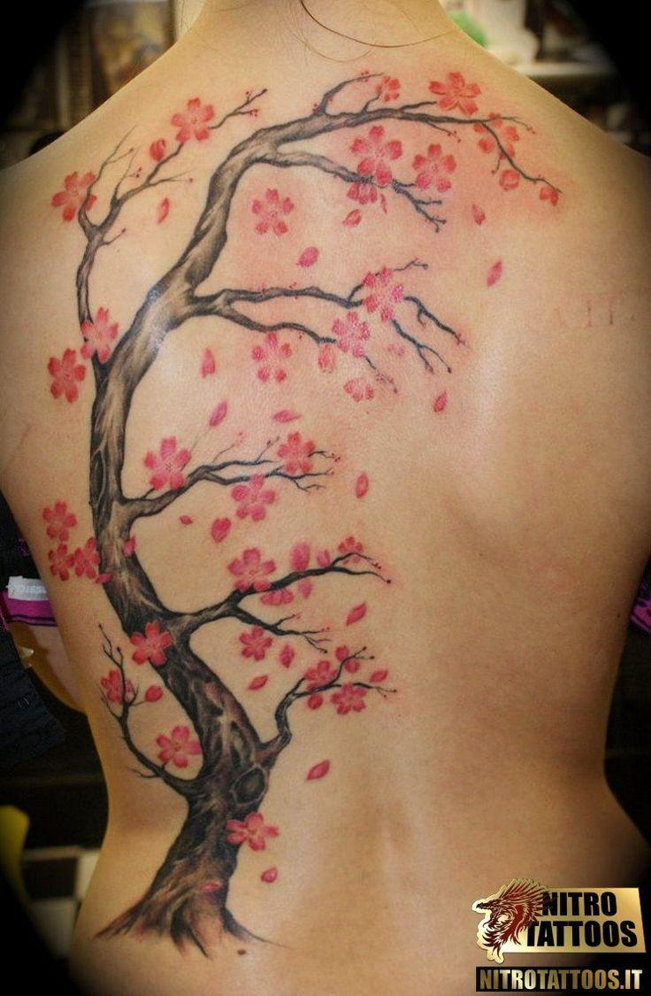 tatuaggi albero di ciliegio #tatuaggi #tatuaggio #tattoos #tattoo #nitrotattoos