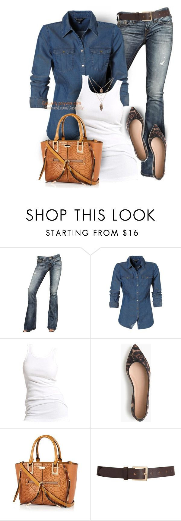 J. Crew & River Island Casual by casuality on Polyvore featuring Soaked in Luxury, True Religion, J.Crew, River Island and Barneys New York