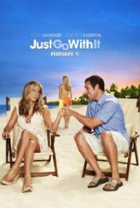 Best Romantic Comedy Movies - Just Go With. Starring Jennifer Aniston & Adam Sandler.