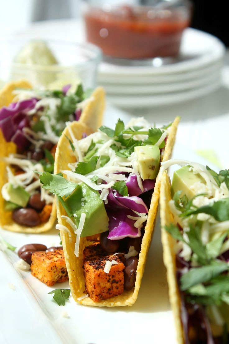 LoadedTofu Tacos. For your Taco Tuesdays. And, if you're feeling a little loco, for Cinco de Mayo.Tofu is a staple in our house and a regular item on our weekly shopping list. We eat a lot of it and have been eating even more of it recently, as we've been eating less red meat and chicken. The problem is, we make the same tofu dishes over and over as the weeks go by. Our typical tofu dinner is pan fried firm/extra firm tofu with peanut sauce … which is SO good (mainly because of the…