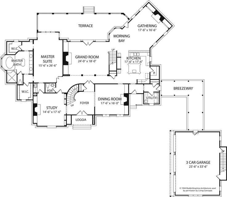 english cottage plan first floor 129s 0012 house plans and more
