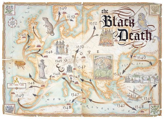 the black death of the 14th century a bacterium wiping europe Plague which hit europe in 14th and 17th centuries caused by bacteria  may have been 'living' in rodents across europe since the time of the black death in the 14th century  wiping out 15 .