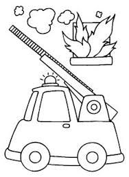 Afbeeldingsresultaat voor kleurplaat brandweer