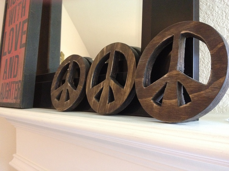 & Sign Decor 473 Best Peace Signs Decor Images On Pinterest  Peace Signs