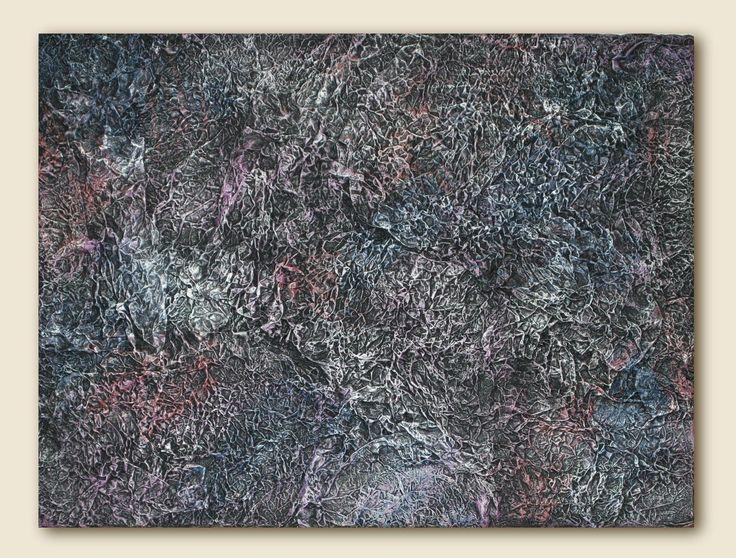Nebula - Mixed Media - Foil & Acrylics on Canvas