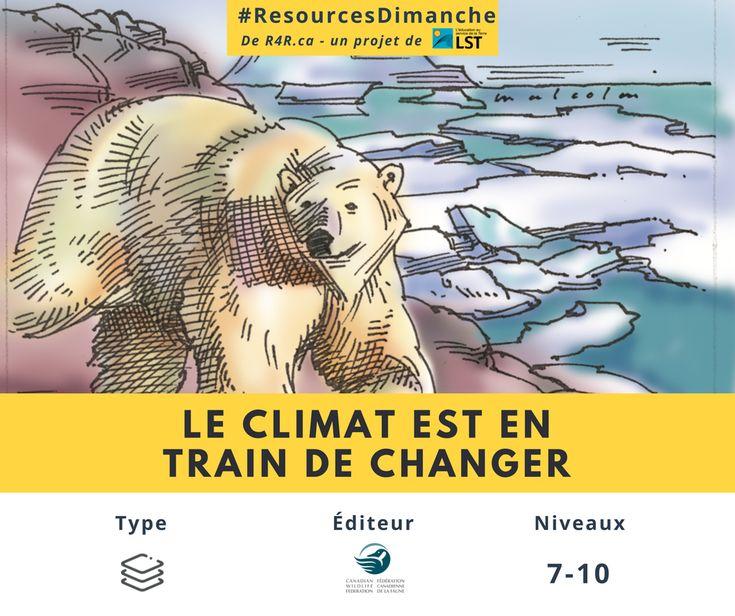 Cette semaine #ResourcesDimanche de #R4R.ca vous inspire à informer la jeunesse canadienne des valeurs de la nature et de l'habitat, des répercussions possibles du changement climatique sur les espèces et les territoires, ainsi que du besoin de conserver ces trésors écologiques.   Visitez http://www.resources4rethinking.ca/fr/resource/le-climat-est-en-train-de-changer?utm_source=Facebook&utm_medium=Social&utm_campaign=RS-2-JAN-2018 et téléchargez la ressource «Le climat est en train de…