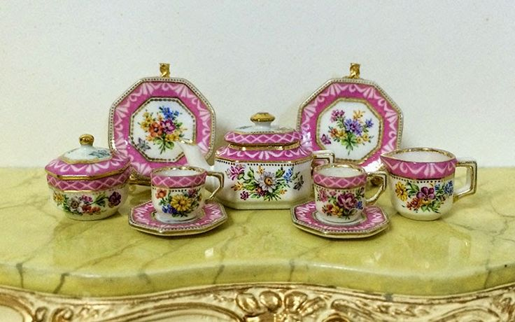 1000 images about Miniature Porcelain for the