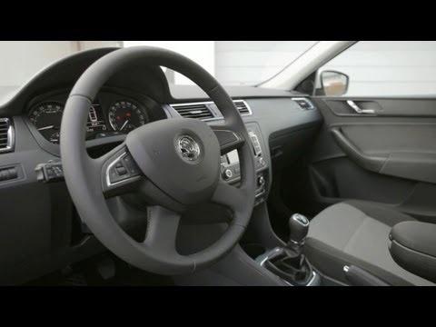 Škoda Rapid 2013 - INTERIOR (video)