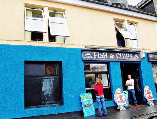 Fish and Chips in Portree