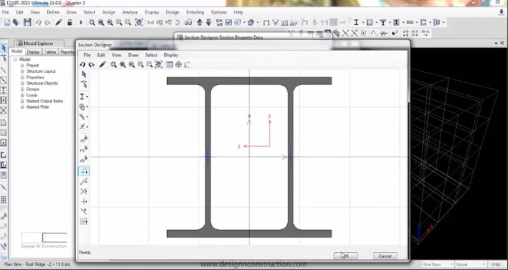 In chapter 4 we learn how to add/import/copy Frames, Delete multiple frame section, how to design section in Section Designer, make an auto select list & modify deck property. #etabs2015#etabs#frame#design#designnconstruction