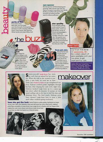 Seventeen Magazine, December 1996