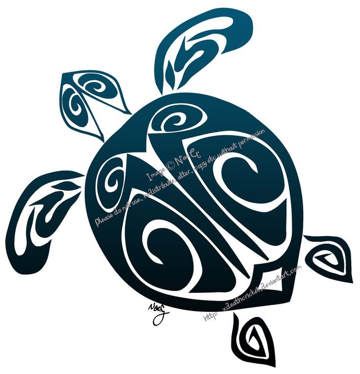 Hawaiian+Turtle+Tattoo | Tribal Turtle Tattoo By Xdeathcricket On Deviantart Design 877x912 ...
