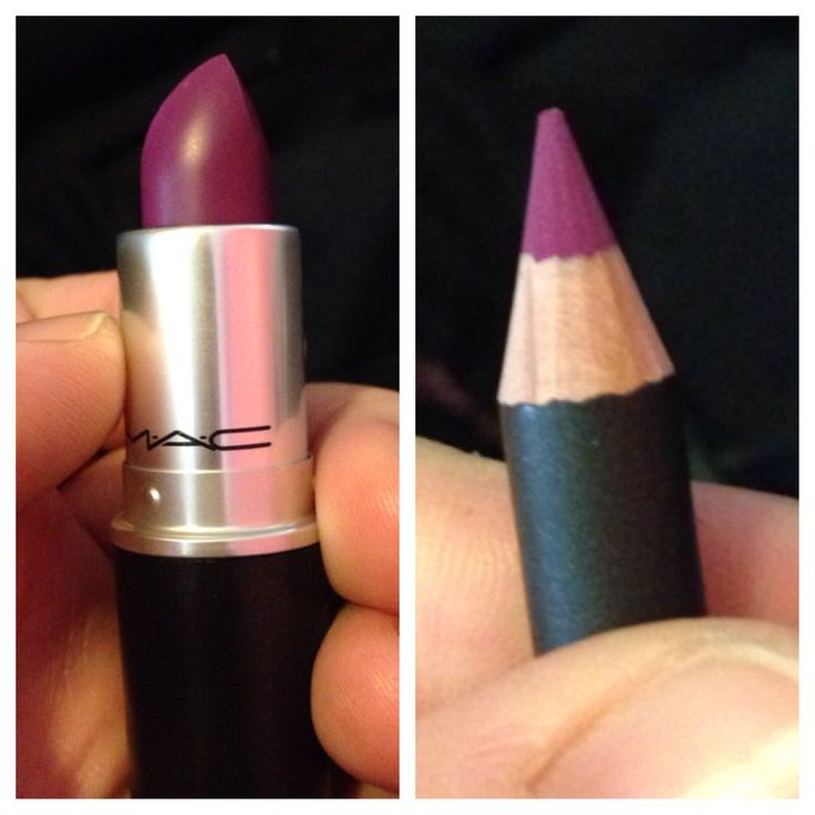 My Beauty Purchases of the Day: 2/22/14 MAC Lipstick in Heroine & Lipliner is Magenta OBSSESED