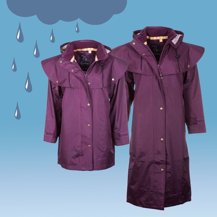 Never get caught out by a downpour again! With our Brand New colours, youll be spoilt for choice. Select long or short, the perfect companion for riding or dog walking. #rain #raincoat #rainjacket #downpour #summershower #summershowers #riding #horseriding #dogwalking #dog #walking #horse #equestrian #derwent #knapton #coat #jacket #wetgear #rydale #rydaleclothing #country #countryclothing #countrywear #countryside
