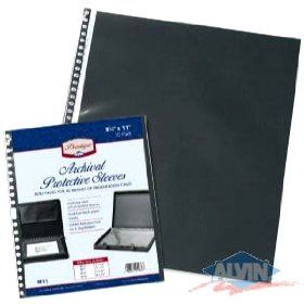 Prestige Presentation Case Refill Pages- 11x14 Inch 10-Pack