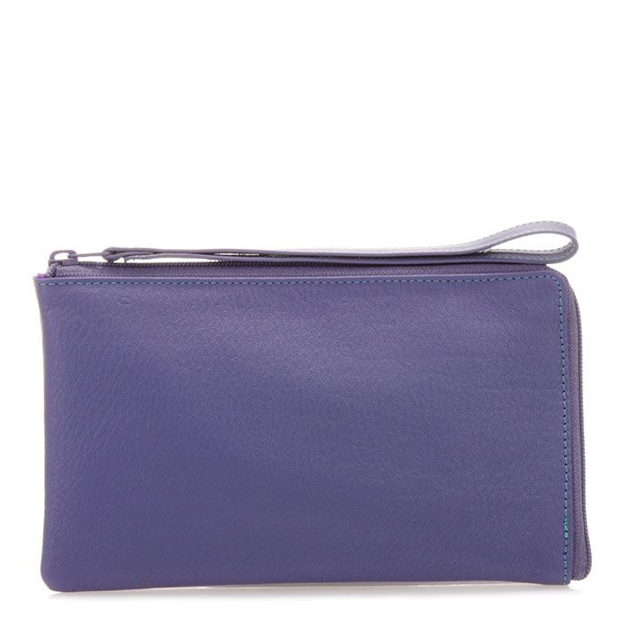 The new Lisbon wristlet pouch in the new colour scheme Bluebell. This cute little item will double as a night clutch or makeup bag.