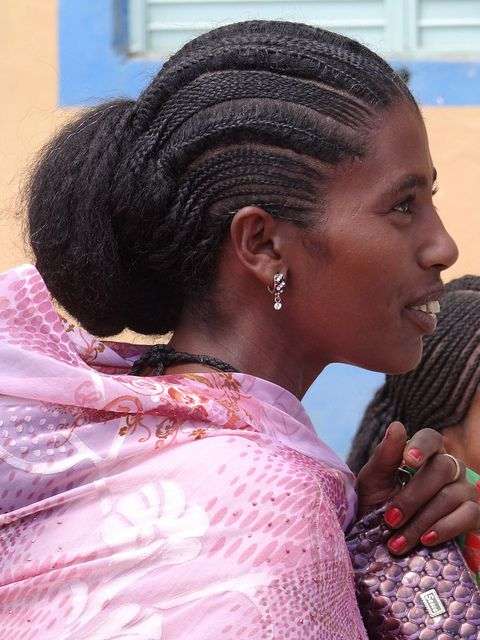 Traditional Ethiopian Braids Natural Hair Styles