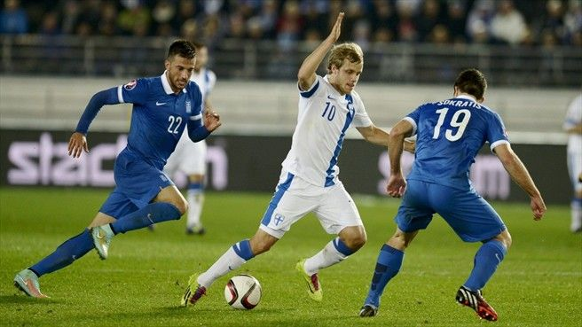 Greece vs Finland Highlights and Full Match Euro France 2016 Qualification