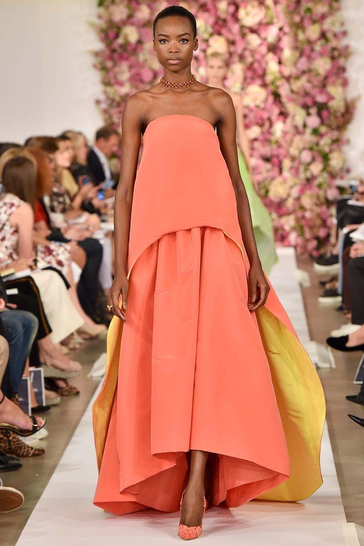 Maria Borges@ Oscar de la Renta   Spring/Summer 2015 Ready-to-Wear Collection   September 9, 2014; New York   Style.com