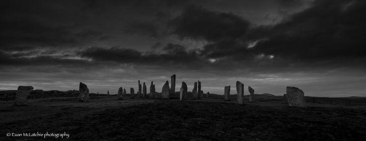 Callanish Standing Stones, Isle of Lewis, #Scotland