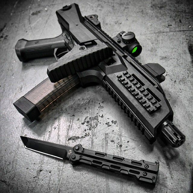 CZ Scorpion Evo 3 with Aimpoint T1