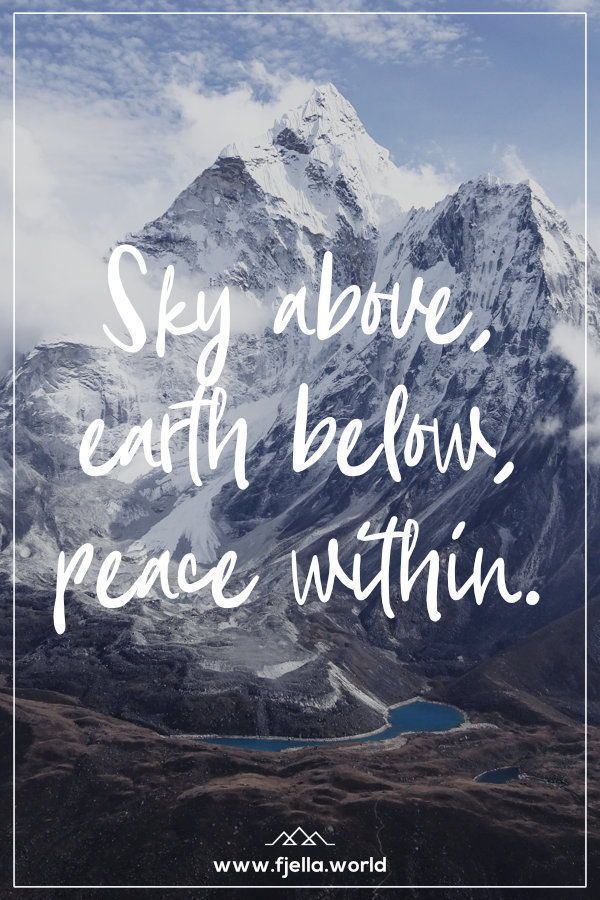 Aim High – Inspirational hiking quotes and mountain quotes-Aim High – Inspirierende Wandersprüche und Bergzitate Sky abo…