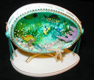 Aquarium Egg- Great Diorama.