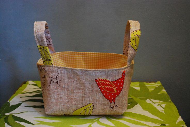 Oltre 25 fantastiche idee su cestino di stoffa su - Portapane ikea ...