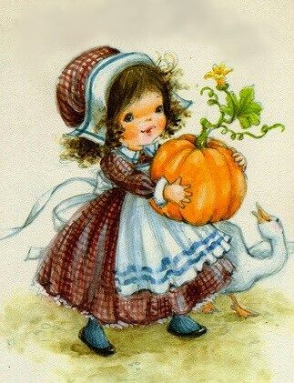 Vintage Thanksgiving illustration