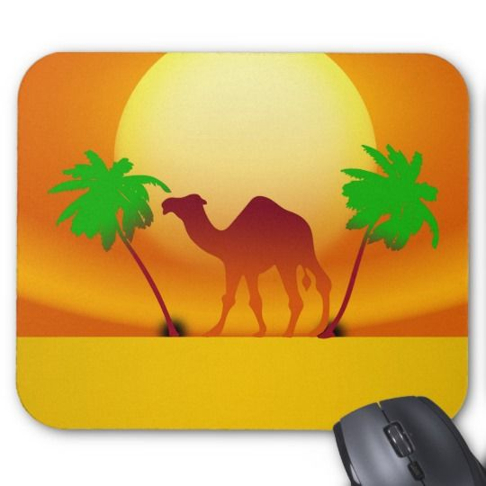#zazzle #Desert #Sunset #Mousepad #mouse #office #home #travel #gift #giftidea