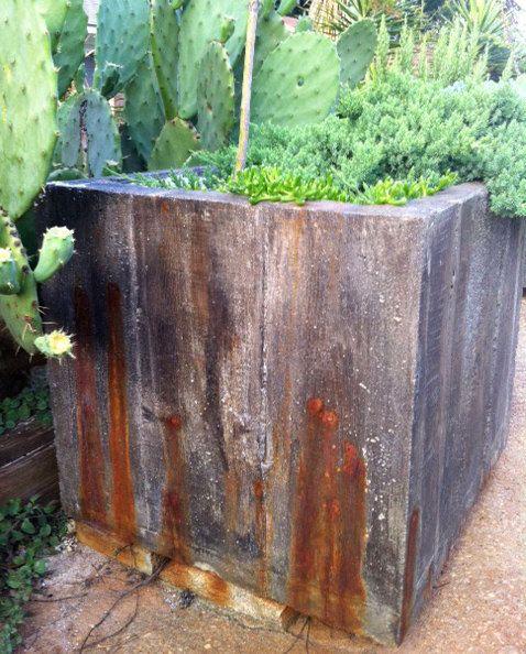 Marvelous Large Concrete Planter By Anniearonburg On Etsy, $350.00