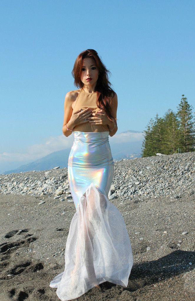 little mermaid, ansia sociale, vestito sirena, mermaid outfit, elisa bellino, fashion blog italia, mermaid