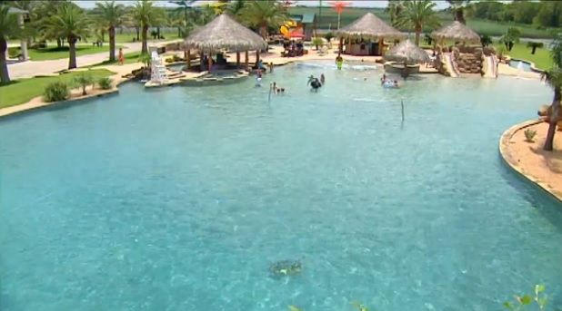 Fun Fact Friday The World S Largest Residential Pool Swimming Pools Pinterest World The