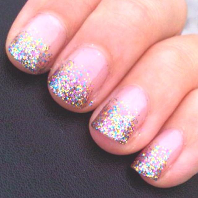 clear nail tips ideas