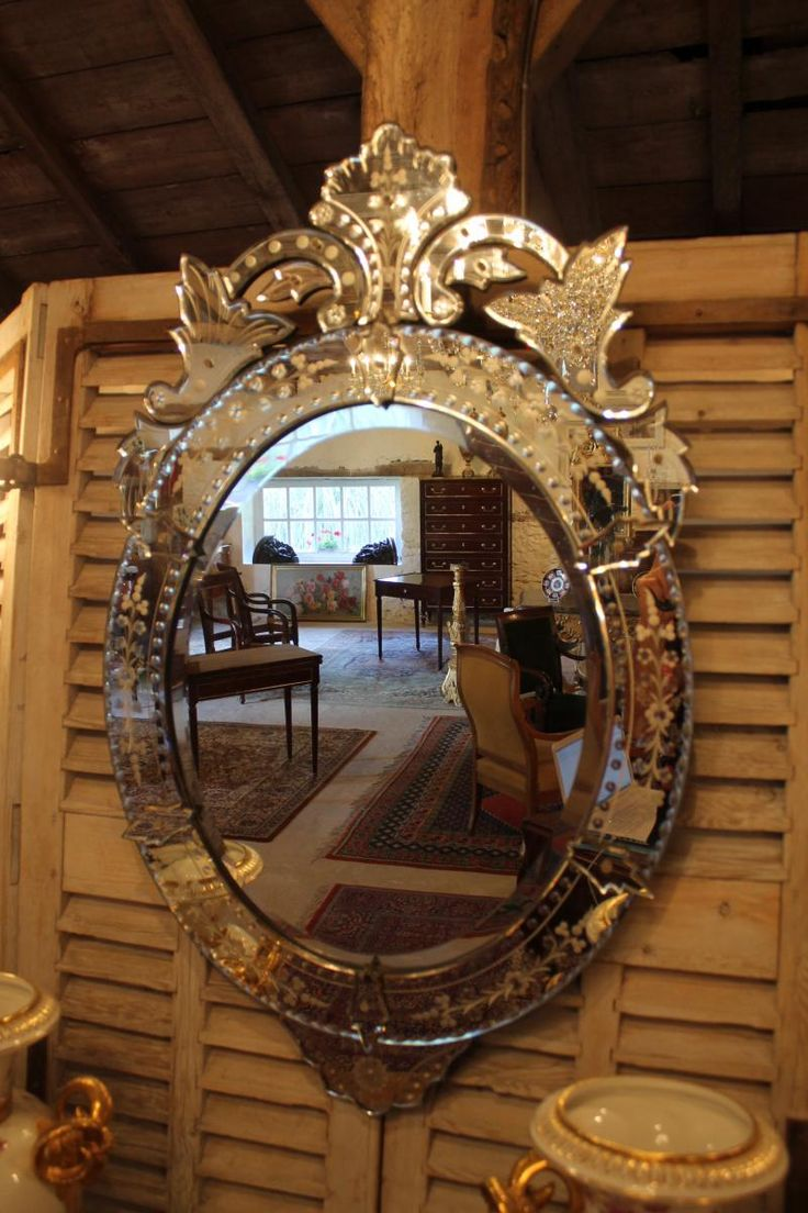 17 meilleures id es propos de miroirs v nitiens sur for Miroir 4 murs
