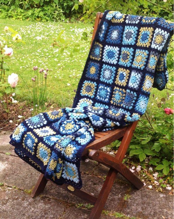 Crocheted sleep blanket