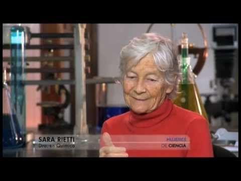Mujeres de ciencia: Química nuclear Dra. en Química Sara Rietti.