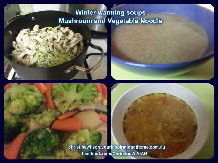 Perfect winter warmers. christinewilson.yourinspirationathome.com.au facebook.com/ChristineW.YIAH