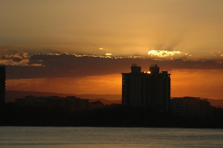 Sunset at Cotton Tree, Sunshine Coast, Australia. Photo by Sharon Wood