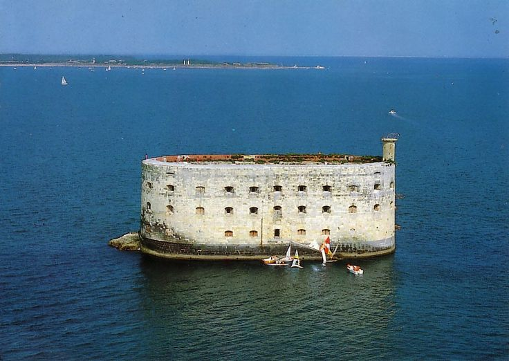 Fort Boyard (off La Rochelle, in Bordeaux, France). This place is totally going into a story (sometime...somehow...).